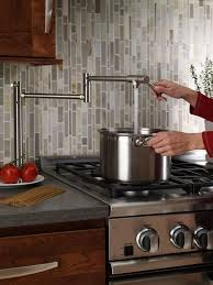 kitchen pot filler faucets this image was originally shared to highlight the convenience of