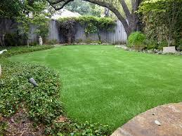 California Backyard Fake Lawn Rolling Hills Estates California Backyard Deck Ideas