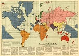Map Of Europe 1941 by Map For A New World Order On 1941 U0027communist U0027 World Planning The