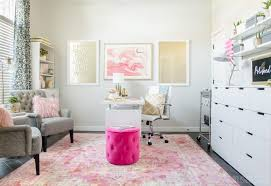 Pink Office Furniture by How To Decorate A Room Beautifully With Blush Pink Shabbyfufu