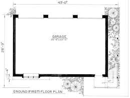 size of a 3 car garage 3 car garage plans