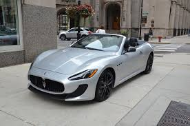 maserati coupe 2013 2013 maserati granturismo mc convertible sport stock m145 s for