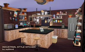 sims 4 industrial style kitchen