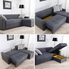 Sectional Sleeper Sofas For Small Spaces by Storage Sectional Sofa Foter