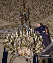 Largest Chandelier Royal Prepartion Chandelier Pictures Getty Images