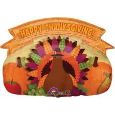 thanksgiving balloons and accessories ziggos