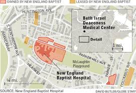 New England Map by New England Baptist Hospital To Leave Longtime Location On Mission