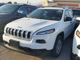 2016 jeep cherokee sport white 2016 jeep cherokee sport 4x4 white for 29902 in vaughan toronto com