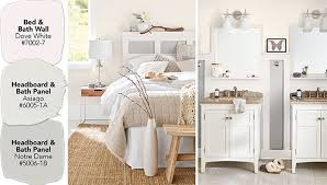 Painting Ideas For Bathroom Colors Paint Color Ideas For A Coordinated Bedroom And Bathroom