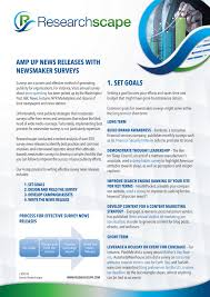 Search Engine For Research Papers Surveys For News Releases Researchscape Whitepaper
