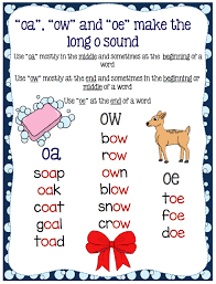 activities for teaching the oa ow oe digraphs make take u0026 teach