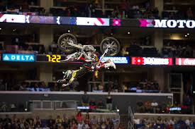 nate adams freestyle motocross nate adams ready to energize crowd at the supermotocross monster