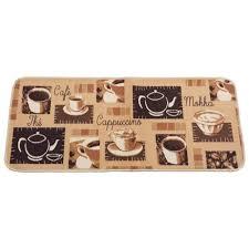 tapie de cuisine tapis cuisine 50x120cm model capuccino achat vente tapis de