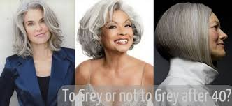 grey hair in 40 s should you go grey after 40