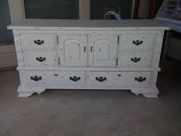 Distressed Antique White Bedroom Furniture Furniture Wodoen Distressed Dresser With Drawers And White Handle
