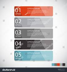 infographic templates business vector illustration eps10 stock