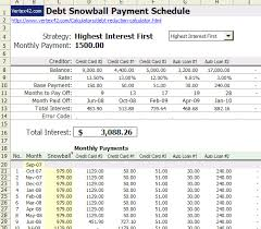 Excel Debt Payoff Template Free Excel Based Debt Reduction Calculator To Payoff Credit Card Debt