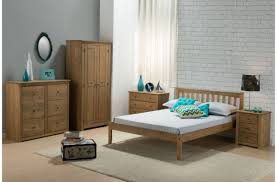 Santiago Bed Frame Birlea Santiago 3 Drawer Bedside Cabinet By Birlea