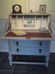 Shabby Chic Writing Desk by Vintage Shabby Chic Painted Bureau Writing Study Computer Desk