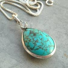 silver turquoise pendant necklace images Turquoise pendant turquoise pendant necklace silver pendant jpg