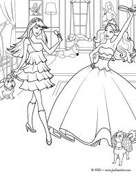 coloriage barbie la princesse et la popstar keira a imprimer