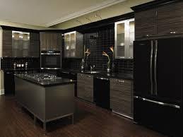 black cabinets with black appliances espresso kitchen cabinets with black appliances black appliances