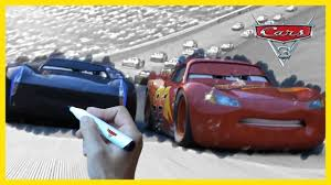 cars 3 movie 2017 u2013 kids coloring book with lightning mcqueen