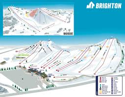 Where Is Michigan On The Map by Trail Maps For Mt Brighton Michigan Ski Area Mt Brighton