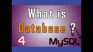 database design tutorial videos mysql rdbms video tutorial 04 what is database youtube