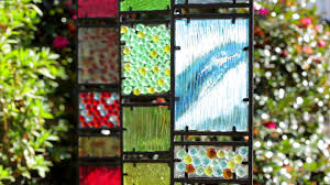 Decorative Glass For Kitchen Cabinets by Decorative Glass Garden Panes Sku 53943 Plow U0026 Hearth Youtube