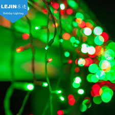 most popular green led icicle lights clearance for