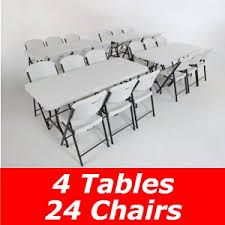 Lifetime 6 Folding Table Lifetime 4 Pack 6 Tables 24 Chairs On Sale Fast Free Shipping