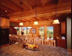 log home interior photos from natural element homes