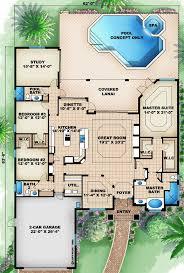 Home Floor Plans Mediterranean 115 Best House Plans Images On Pinterest House Floor Plans