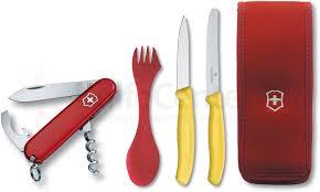 Kitchen Knives Victorinox Victorinox Swiss Army Waiter Multi Tool Camping Set Spork Paring