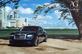 roll royce ghost blue ag luxury wheels rolls royce wraith forged wheels