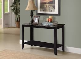 Console Table Used As Dining Table Amazon Com Monarch Specialties Dark Taupe Reclaimed Look Sofa