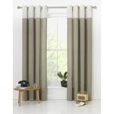 Curtains Online Shopping Buy Dublin Eyelet Unlined Curtains 168 X 183cm Stone At Argos