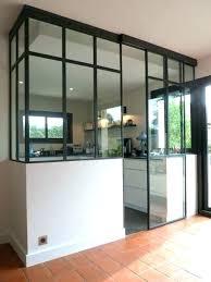 cloison vitree cuisine salon separation de cuisine en verre separation de cuisine en verre 10