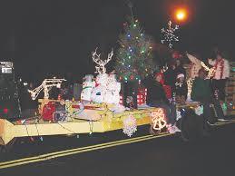 photos yorktown enjoys first holiday lights parade the examiner