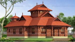 Bud Traditional Nalukettu Style 3 Bedroom Home with Nadumuttam