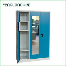cheap 3 doors kd structure different color wardrobes bedroom