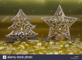 star shaped tea lights gold christmas tree and star shaped tea light holders with yello