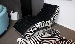 Zebra Print Chaise Floor Samples Sale U2039 U2039 The Leather Sofa Company
