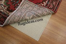 Rug On Carpet Pad Rug Pads Los Angeles Best Underlay Floor Protection La