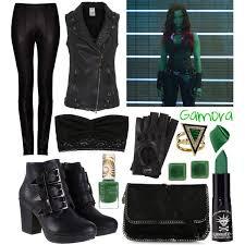 gamora costume guardians of the galaxy gamora character inspired fashion