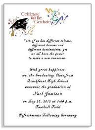 wording for graduation announcements college invitation wording graduation invitation exles