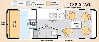 class b rv floor plans winnebago era class b motorhome review roaming times rv wagon