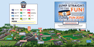 Map Sports Facility League World Series Complex Map