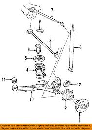 nissan altima 2005 lower control arm hyundai oem 01 06 santa fe rear suspension spring insulator 5534126000